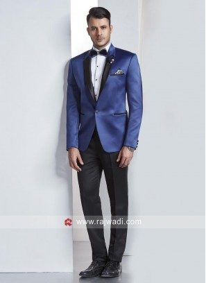 Charming Blue Color Suit