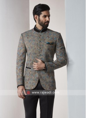Party Wear Jodhpuri Suit In Multicolor