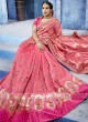 Pita and Pearl Work Heavy Wedding Saree