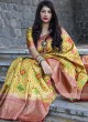 Resham Weaved Saree with Border