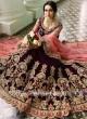 Bridal Velvet Heavy Lehenga Set