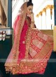 Silk Unstitched Lehenga Choli with Dupatta