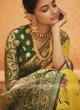 Beautiful yellow color saree
