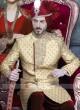 Traditional Brocade Silk Fabric Indo Western