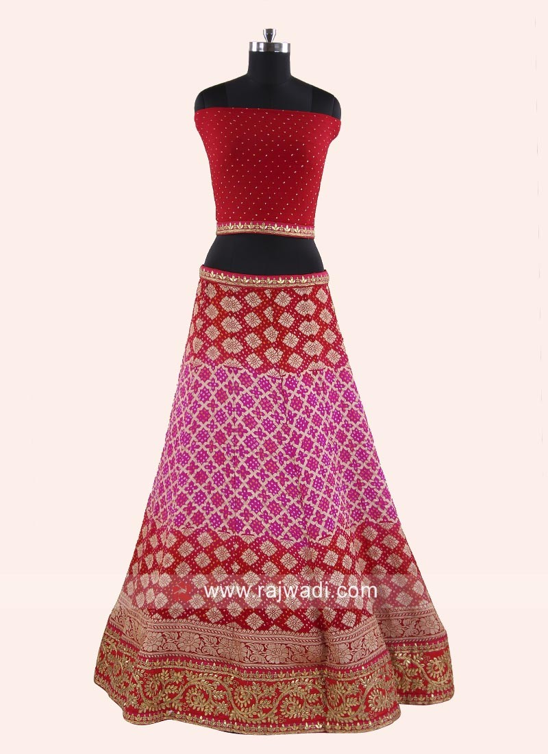 82f473ff7d Gota Patti Work Reception Lehenga Choli. Hover to zoom · Previous. Roll  over image to zoom or click to enlarge. Next. Product ...