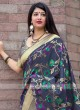 Floral Weaving Reception Saree