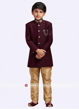Marvelous Art Silk Indo Western For Kids