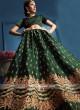 Green Wedding Lehenga Choli
