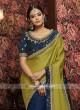 Designer Wedding Half n Half Saree