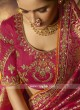 Wedding Rani Color Saree