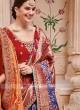 Art Silk Traditional Patola Saree