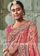 Heavy Embroidered Banarasi Silk Saree