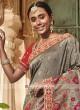Banarasi Silk Saree in Grey