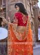 Designer Unstitched Silk Lehenga Choli