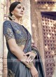 Heavy Embroidered Wedding Saree