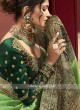 Raw Silk Heavy Wedding Saree