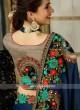 Exclusive Embroidered Half n Half Saree