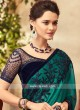 Embroidered Chiffon Silk Saree