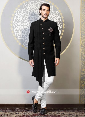Black Color Indo Western For Party