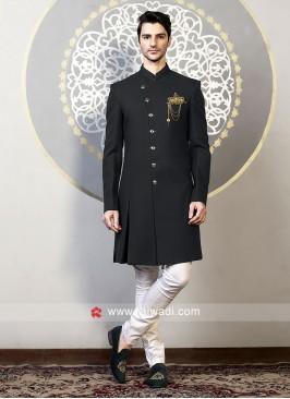 Stylish Jute Silk Indo Western