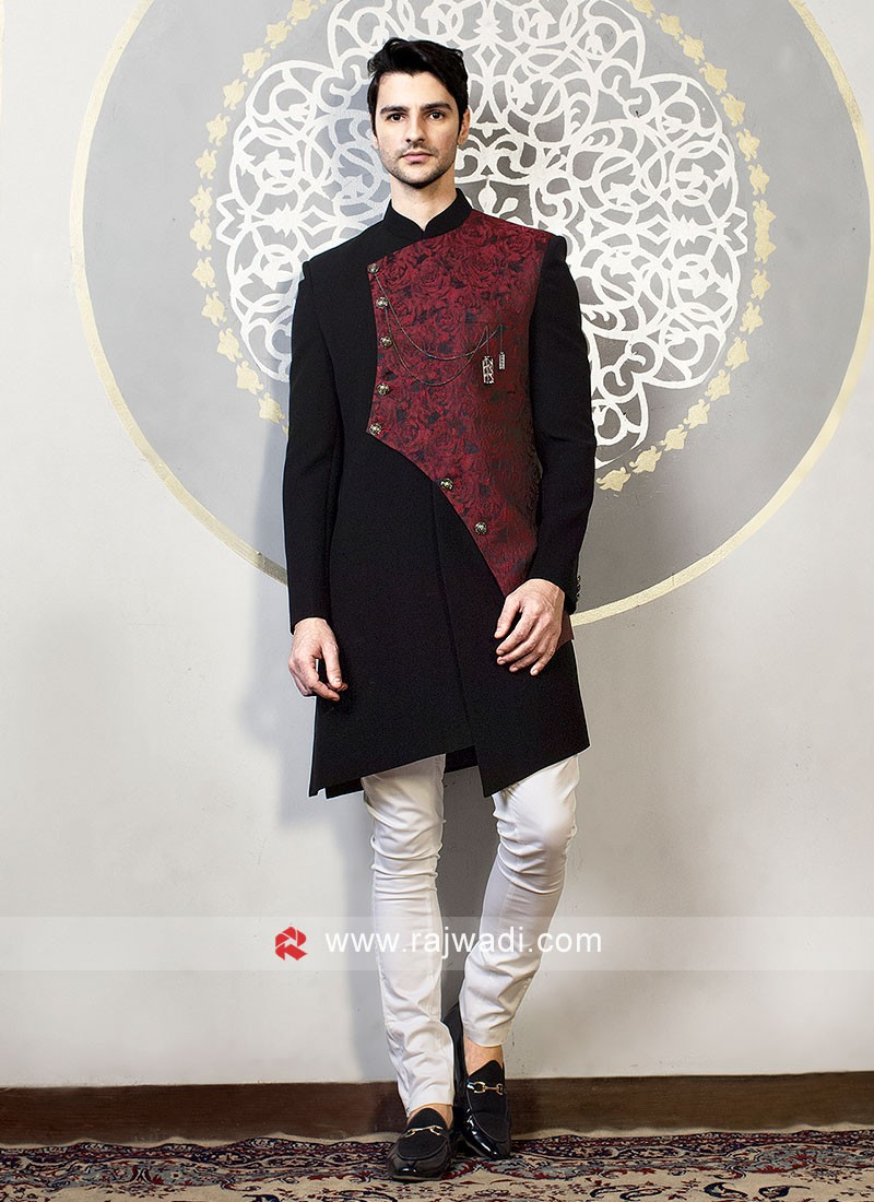 Beautiful Indo Western in Black Color