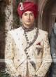 Designer Golden Cream Sherwani