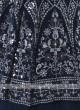 Rama Blue Choli Suit