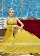 Elegant yellow lehenga choli