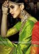 Exclusive Wedding Saree with Zari Work