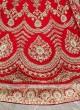 Bridal silk red lehenga choli