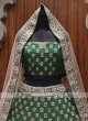 Bridal green colour lehenga choli