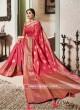 Banarasi Silk Saree With Zari Woven Border