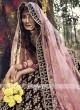 Elegant Maroon Bridal lehenga Choli