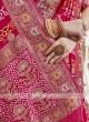 Rani Color Viscose Saree