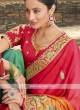 Satin Silk Shaded Saree