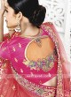 Embroidered Bridal Shaded Lehenga Saree