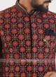 Raw Silk Wedding Wear Indo Western