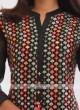 Chiffon Black Kurti