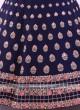Blue Color Silk Lehenga Choli