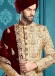 Brocade Silk Indo Western Sherwani