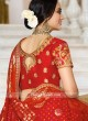 Raw Silk Shaded Lehenga Set with Dupatta