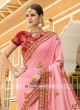 Heavy Embroidered Art Silk Saree