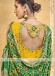Beautiful Green Color Saree