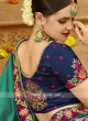 Wedding Art Silk Sari with Designer Border