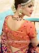 Stone and Beads Work Saree