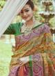 Resham and Zari Work Designer Saree