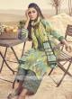 Shagufta Multi Color Cotton Palazzo Salwar Suit