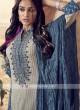 Shagufta Resham Work Cotton Pant Salwar Suit
