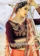 Satin Silk Heavy Embroidered Lehenga Choli