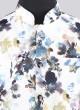 Emboss Fabric Flower Print Koti